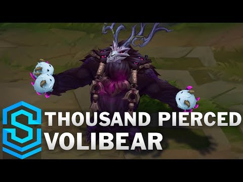 Thousand Pierced Volibear (2020) Skin Spotlight - League of Legends
