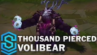Thousand Pierced Volibear (2020) Skin Spotlight - League of Legends