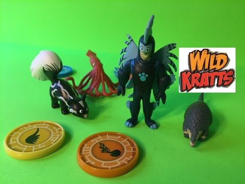 Wild Kratts Porcupine Powers Toy! Unboxing and Review of Wild Kratts Defenders Set