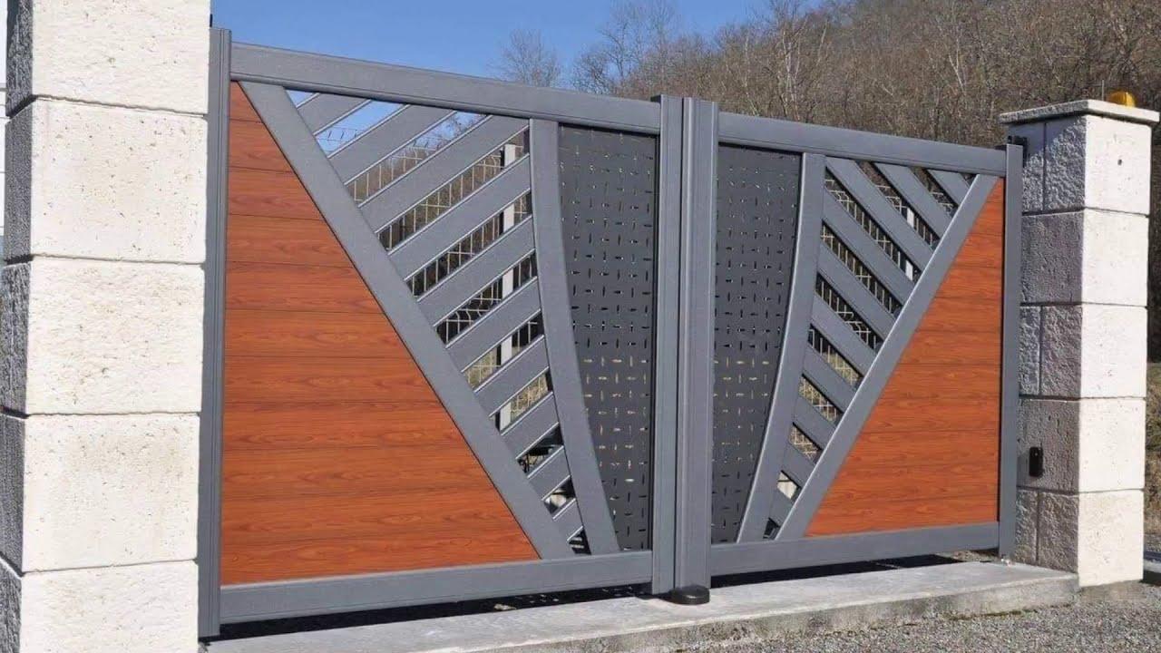 Modern iron gate designs !!! - YouTube on Iron Get Design  id=18873