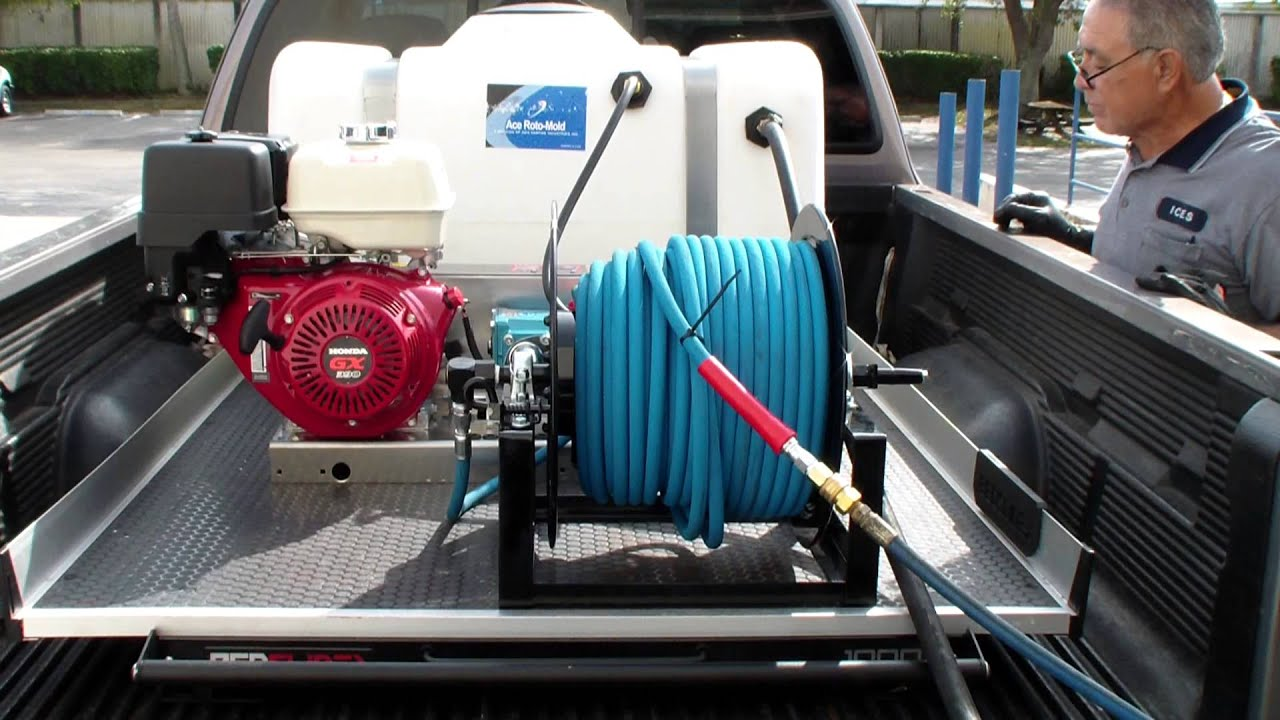 13 hp Honda 4000 PSI @ 4 GPM belt driven Cat Pump pressure washer  Dan  Swede 800-666-1992