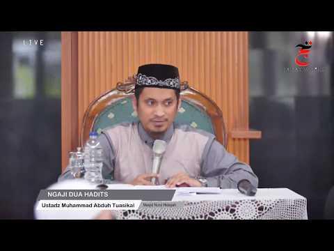 [LIVE] Ngaji Dua Hadits -  Ustadz Muhammad Abduh Tuasikal, MA [1080p]