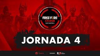 FREE FIRE LEAGUE - NA - JORNADA 4