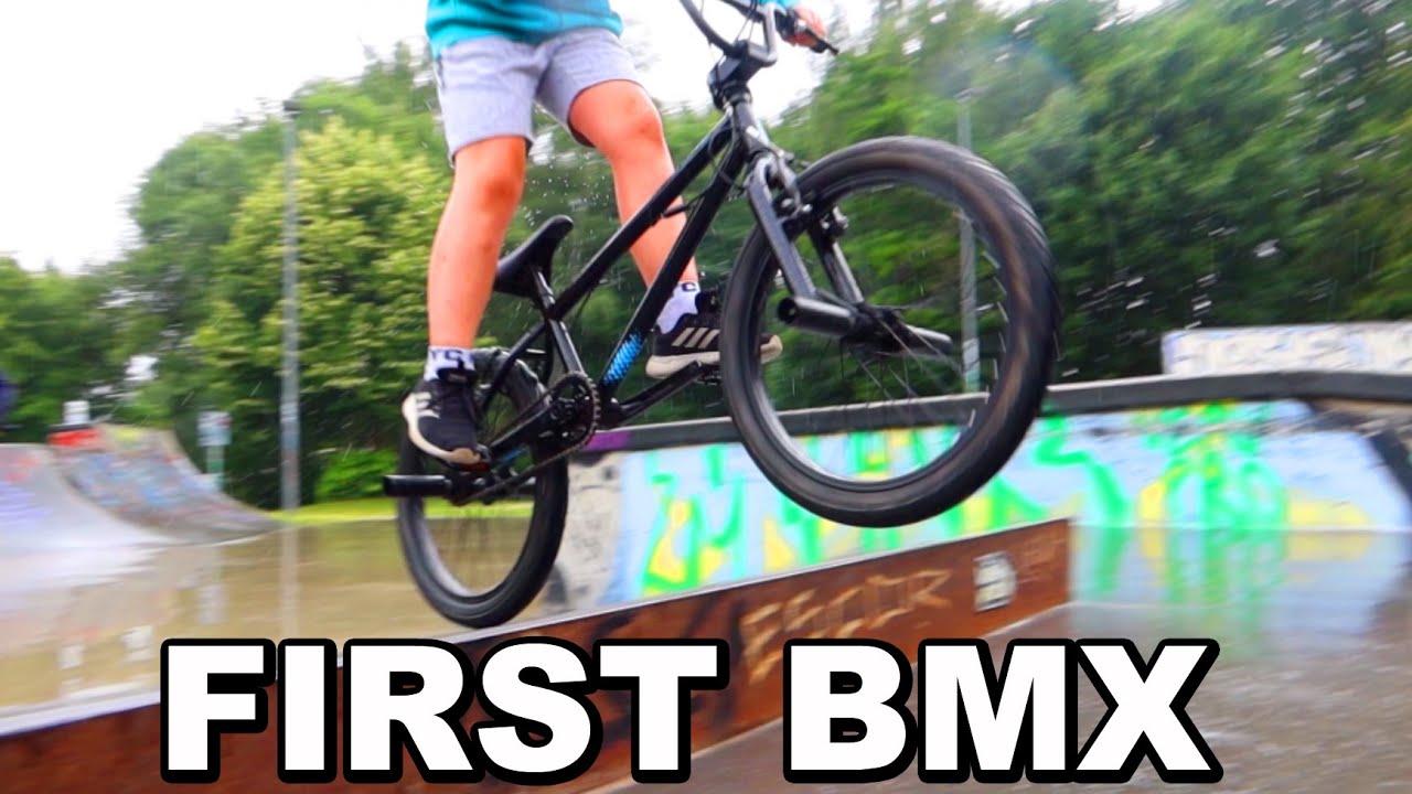 NEW BMX FREESTYLE CROSS BIKE 🤣 ASH
