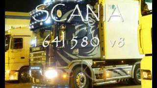 Scania 164 580 v8 The King