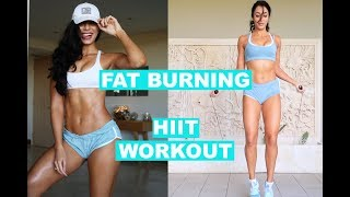 FAT BURNER WORKOUT | HIIT CARDIO - Skipping