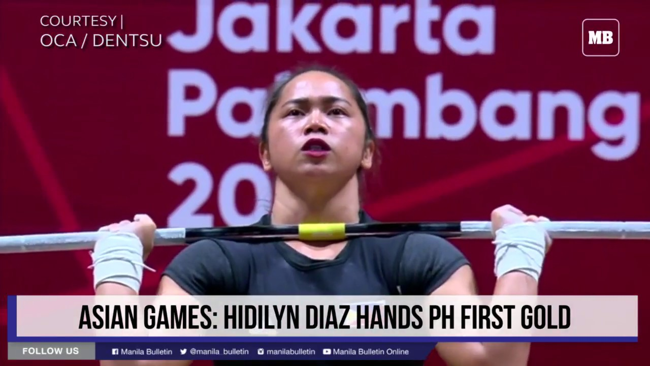 Asian Games: Hidilyn Diaz hands PH first gold