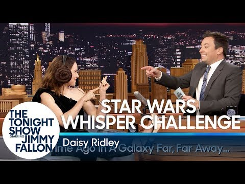 Download Youtube: Star Wars Whisper Challenge with Daisy Ridley