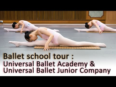 [Ballet school tour] Universal Ballet Academy & Universal Ballet Junior Company in South Korea