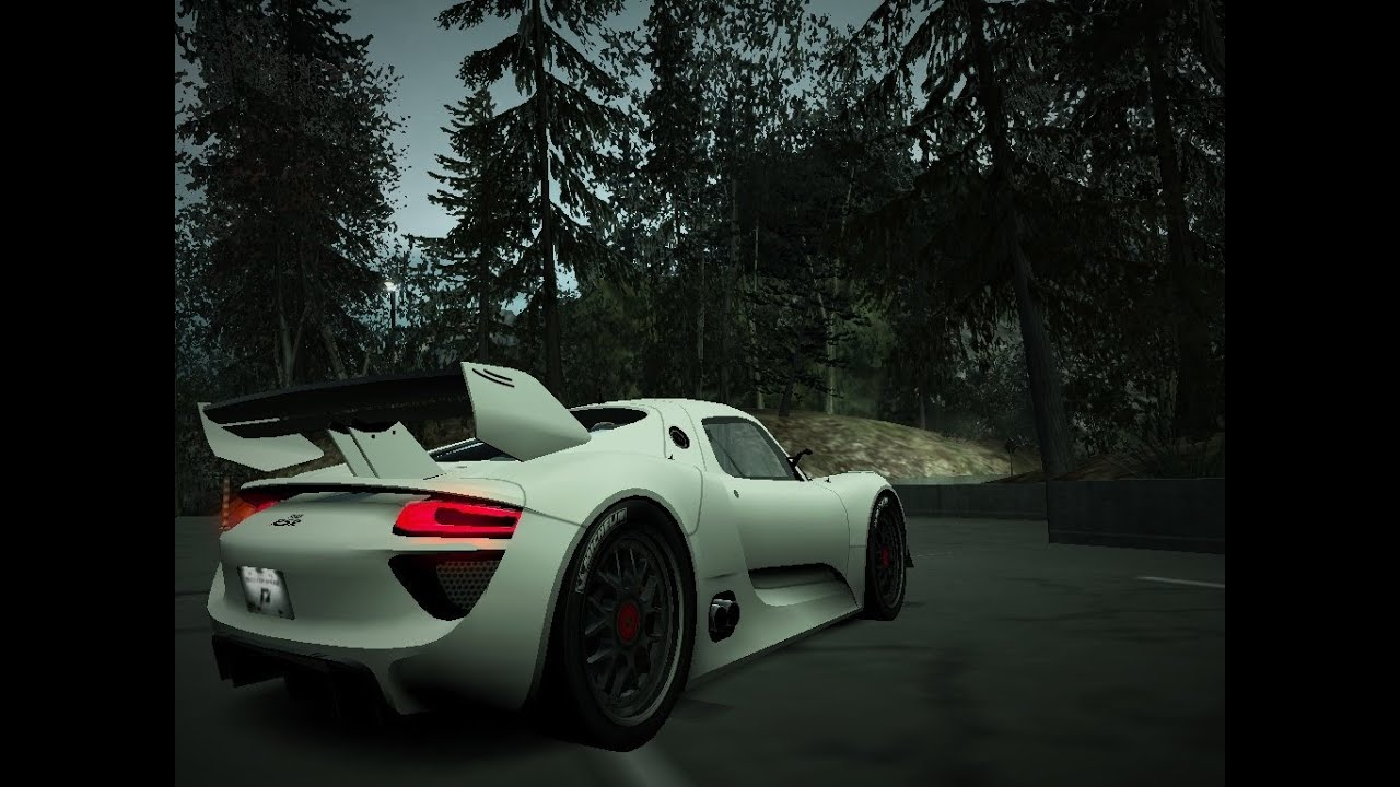 need for speed world online hidden car porsche 918 concept rsr 1080p. Black Bedroom Furniture Sets. Home Design Ideas