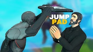 "Fortnite Live - JUMP PAD ""BOUNCER"" IS BACK NOW!