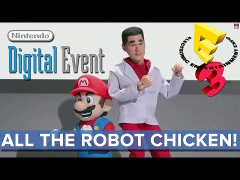 All the Robot Chicken of Nintendo's Digital Event - E3 2014 - Eurogamer