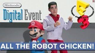 All the Robot Chicken of Nintendo's Digital Event - E3 2014 - Eurogamer