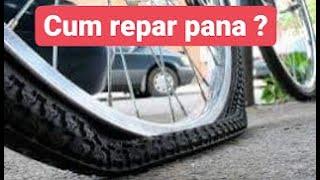 Cum repari corect o pana la bicicleta ?