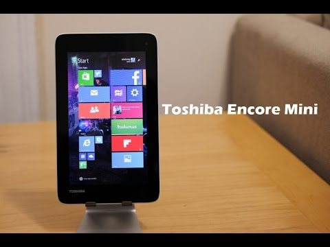 Toshiba Encore Mini Unboxing & First Look