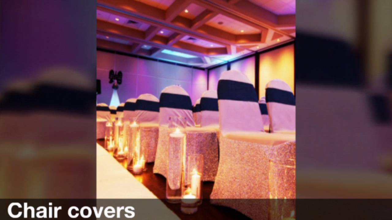 Wedding Chair Covers Montreal Wooden Chairs Ikea Decoration And Party Rentals Youtube