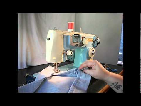 Demonstration Video of a Japanese Free Westinghouse Sewing Machine