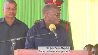 Maneno ya Rais Dkt John Pombe Magufuli aliyoongea akiwa Chato Kuhusu Ugawaji wa Fedha za Pembejeo.