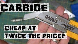 BOLTR: DEWALT Carbide | Knife Blades
