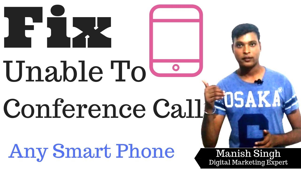 How to fix unable to conference call Google Pixel 2,Mi,Samsung any other
