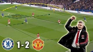Solskjær Ends Chelsea's Winning Streak | Chelsea vs Man United 1-2 | Tactical Analysis
