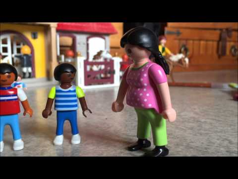 les vacances playmobil episode 4 centre questre. Black Bedroom Furniture Sets. Home Design Ideas