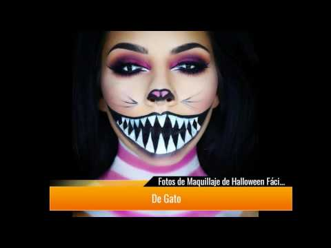 +de 500 fotos de Maquillaje para Halloween para Mujer►Paso a Paso◄ :O