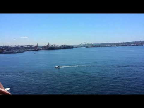NORWEGIAN CRUISELINE - ABOARD SHIP AT SEATTLE PORT