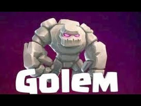 Clash of Clans - Buying Golem with gameplay