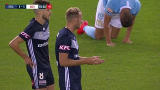 A-League 2018/19: Round 20 - Melbourne Victory v Melbourne City FC (Full Game)