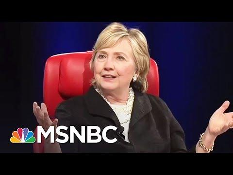 Candid Hillary Clinton Talks 2016, Russia, Misogyny | Rachel Maddow | MSNBC