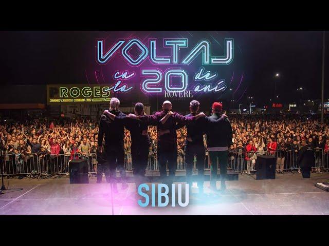 VOLTAJ - CA LA 20 DE ANI TOUR @SIBIU
