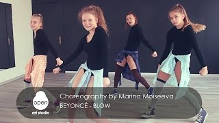 Beyonce - Blow Jazz-funk сhoreography by Marina Moiseeva - Open Art Studio