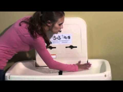 Koala Kare Diaper Changing Table Features