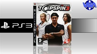 Top Spin 3 Gameplay Ps3 ( 2008 )