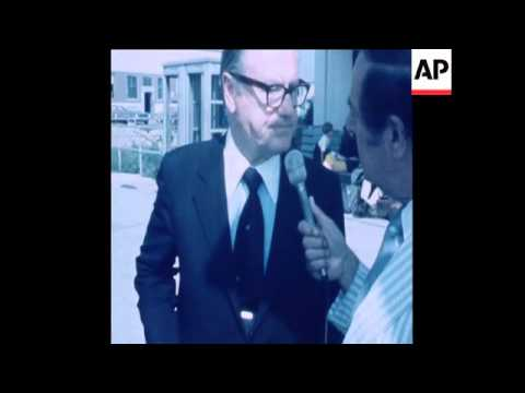 SYND 15-8-72 NELSON ROCKEFELLER RETURNS FROM HIS VISIT TO ISRAEL