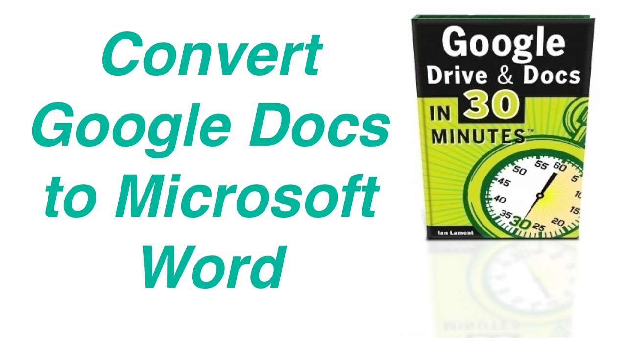 convert pdf to word google docs