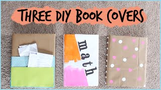 Three Diy Book Covers For Back To School |  #diywithpxb