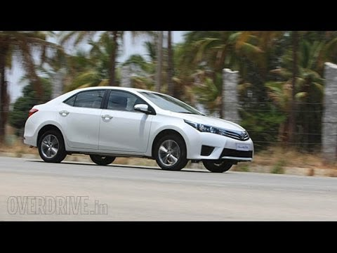 2014 Toyota Corolla Altis India first drive
