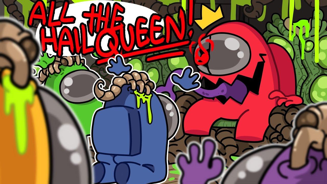 """I GUESS I'M """"QUEEN"""" TOONZ NOW!   Among Us (Alien Queen Mod)"""
