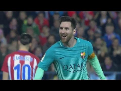 Lionel Messi Amazing Goal vs Atletico Madrid 0-2 (Copa Del Rey) 01.02.2017 HD