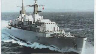 HMS BRILLIANT THE FALKLANDS WAR