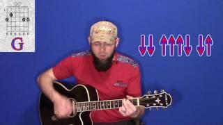Как играть Танцы Минус - Оно на гитаре - аккорды - бой