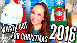 What I Got For Christmas 2016! Christmas Haul! Opening Presents