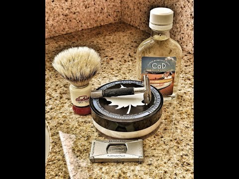 Travel shave with Maggards London Barbershop