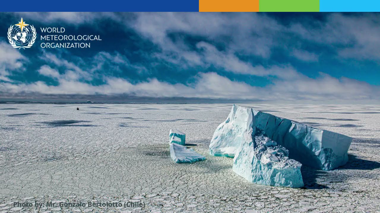 Temperature record for Antarctic continent