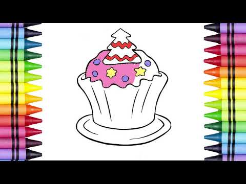 Permalink to Hello Kitty Cupcake Coloring Pages