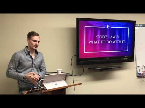 God's Law & what to do with it (Live)