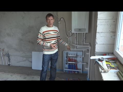 Водяной теплый пол в деревянном доме устройство и монтаж
