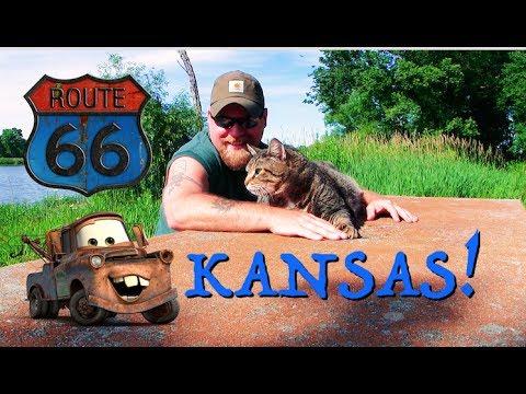 KANSAS, Tow-Mater, Rainbow Bridge, Fireflies, & Lake Camping